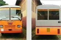 यूपी में सरकारों के साथ बदलते रहे हैं बसों के रंग, अब चलेंगी केसरिया रंग की बसें