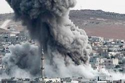 सीरिया में हवाई हमला, 28 की मौत