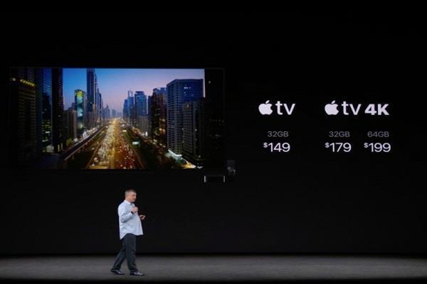 एप्पल ने लॉन्च किया नया 4K TV