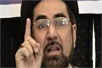शिया धर्मगुरू कल्बे जव्वाद का हमला, कहा-आज़म और वसीम रिजवी हैं आतंकवादी