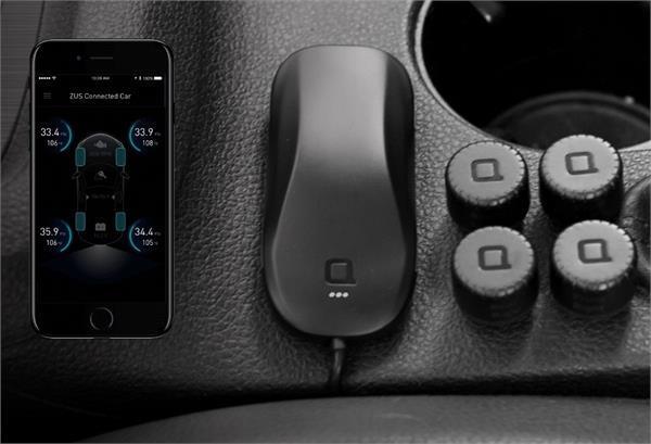 सड़क हादसों को कम करेगा ZUS Smart Tire Safety Monitor