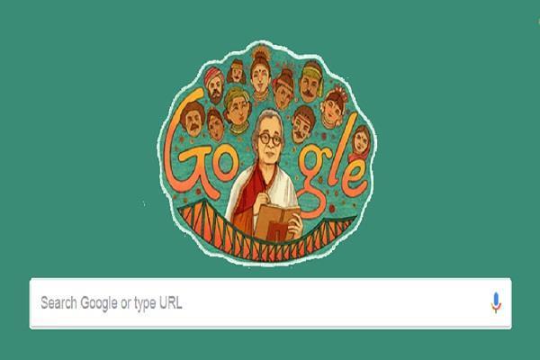 Google ने Mahasweta Devi के 92वें जन्मदिवस पर बनाया डूडल