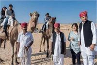 नया साल मनाने के लिए अखिलेश पहुंचे जोधपुर, पत्नी और बच्चों के साथ शेयर की तस्वीर