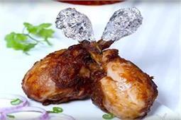 घर पर बनाए टेस्टी एंड क्रिस्पी शेजवान चिकन लॉलीपॉप