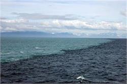 इन दो महासागरों के मिलने पर देखने को मिलता है एेसा अद्भुत नजारा