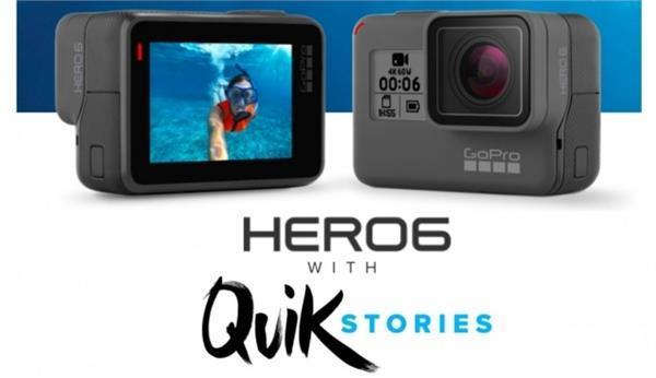 गोप्रो हीरो6 एक्शन कैमरा की कीमत में हुई भारी कटौती