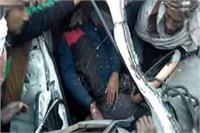 कोहरे का कहरः रोडवेज बस और कार की भिड़ंत, 1 की मौत-8 घायल