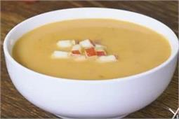 Winter Special गर्मा-गर्म हैल्दी Carrot Apple Onion Soup