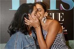 Vogue BFFs के सेट पर बहन अनीशा के साथ मस्ती करती दिखीं Deepika