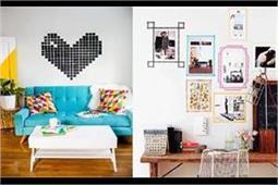 DIY Ideas: वाशी टेप से दें घर की दीवारों को नया और डिफरेंट लुक