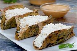 ऐसे बनाएं घर पर गुजराती रेसिपी Thepla Taco