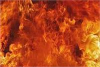 पति ने पत्नी पर मिट्टी का तेल डालकर जिंदा जलाया, मौत