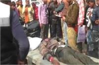 तेज रफ्तार का कहरः ट्रक और बाइक की भीषण टक्कर में 3 लोगों की मौत