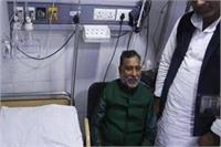नेता विपक्ष राम गोविंद चौधरी की हालत स्थिर, CM योगी और अखिलेश ने जाना हाल
