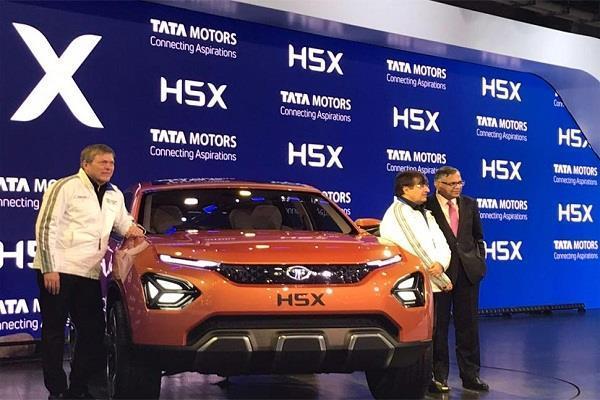 Auto Expo 2018 : टाटा मोटर्स ने पेश की अपनी नई SUV H5X