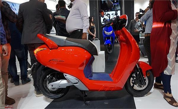 Auto Expo 2018: भारतीय स्टार्टअप ने पेश किया नया इलैक्ट्रिक स्कूटर