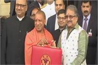 यूपी विधानसभा: वित्तमंत्री राजेश अग्रवाल ने पेश किया 428384.52 लाख रुपए का बजट