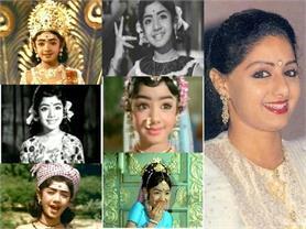 श्रीदेवी के निधन के बाद यादें बनकर रह गई उनकी यह खास तस्वीरें