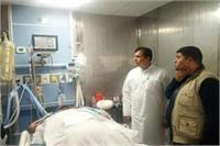 थराली विधायक मदनलाल शाह की हालत गंभीर, सीएम मिलने पहुंचे अस्पताल