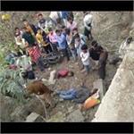 गोंडाः अनियंत्रित होकर पुल से नीचे गिरी बाइक, 2 युवकों की मौत, 1 घायल