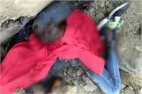 बेखौफ बदमाशों का कहरः युवक की हत्या कर शव को जलाया, मचा हड़कंप