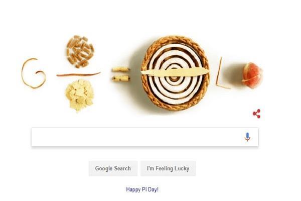 Pi Day की 30वीं एनिवर्सरी को सेलिब्रेट करते हुए गूगल ने बनाया नया डूडल