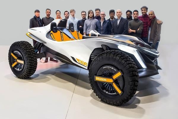 Geneva Motor Show 2018: सड़क के अलावा पानी में भी चलेगी Kite कान्सैप्ट कार