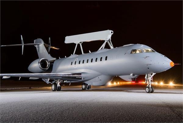 बिजनैस जैट को मॉडिफाई कर बनाया गया मिलिट्री एयरक्राफ्ट