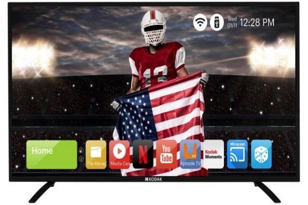 kodak 50-इंच 4K UHD स्मार्ट LED TV की बिक्री शुरु