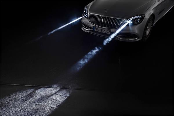 Geneva Motor Show 2018: मर्सिडीज ने दिखाई भविष्य की स्मार्ट हैडलाइट्स