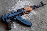 चित्रकूट में मुठभेड़ के दौरान इनामी बदमाश फरार, मौके से AK-47 बरामद