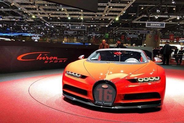 Geneva Motor Show 2018: 2.5 सैकेंड में 0 से 100km/h की स्पीड पकड़ेगी Bugatti Chiron Sport