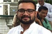 निर्दलीय विधायक अमनमणि ने बीजेपी के पक्ष में किया वोट