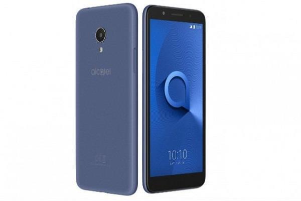 भारत में लांच हुआ एल्काटेल 1X एंड्रॉयड ओरियो (गो एडिशन) स्मार्टफोन