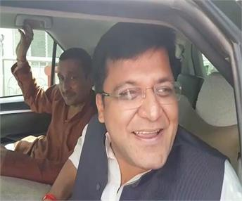 UP राज्यसभा चुनाव: सपा विधायक नितिन अग्रवाल ने BJP के पक्ष में किया मतदान