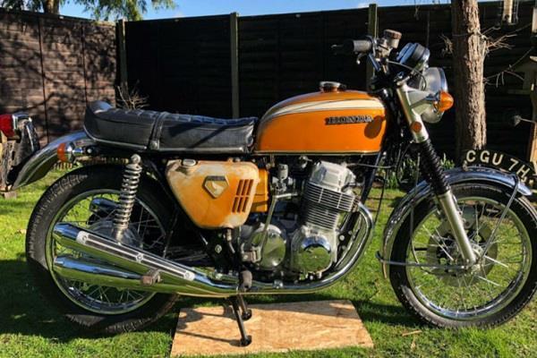 1.45 करोड़ में नीलाम हुई 1968 प्री-प्रोडक्शन होंडा CB750 बाइक