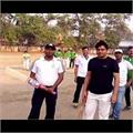 बिहार दिवसः बक्सर में प्रशासन और जनता के बीच हुआ क्रिकेट मैच का आयोजन
