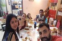 पुलिस में रिपोर्ट दर्ज होने के बाद से क्रिकेटर शमी का परिवार गायब
