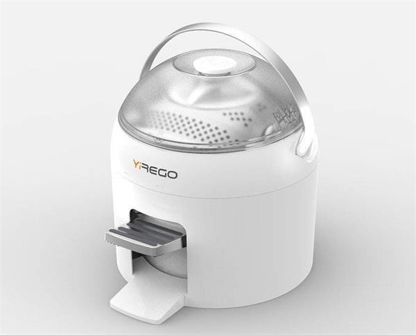 बिना बिजली के कपड़ों को धोने के काम आएगी Drumi वाशिंग मशीन