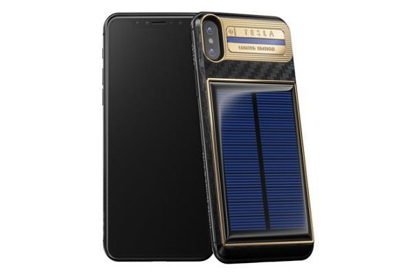 सोलर चार्जिंग के साथ पेश हुअा Tesla iPhone X,  कीमत जान हो जाएंगे हैरान