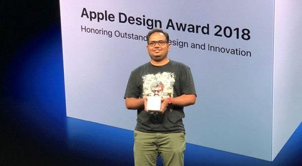 WWDC 2018 में गूंजा विजयरामन का नाम, एप्पल ने दिया अवॉर्ड