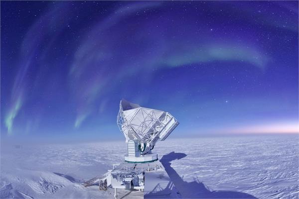 प्रारंभिक ब्रह्मांड से ध्वनि का अध्ययन करेगा साउथ पोल टेलीस्कोप