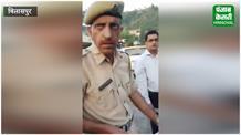 फिर खुली 'खाकी' की पोल,चालान में भेदभाव पर पुलिस से उलझा युवक
