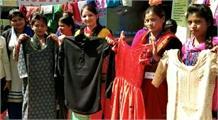 आरसेटी से महिलाओं को मिला ड्रेस डिजाइनिंग का प्रशिक्षण, स्वरोजगार से जुड़ेंगी महिलाएं