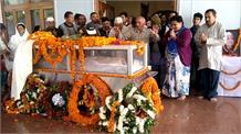 एनडी तिवारी का पार्थिव शरीर पहुंचा हल्द्वानी, चित्रशिला में होगा अंतिम संस्कार