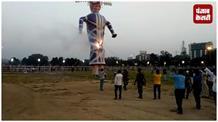 धूमधाम से गांधी मैदान में मनाया गया विजयादशमी, केरल के कलाकारों ने निकाली मनमोहक झांकियां