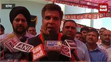 राष्ट्रविरोधी तत्वों को रविंद्र रैना की दो टूक , 'तिरंगे का अपमान करोगे तो खाओगे गोली'