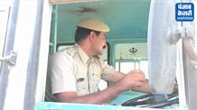 हड़ताल का तीसरा दिनः पुलिस कर्मियों ने संभाले रोडवेज बसों के स्टीयरिंग