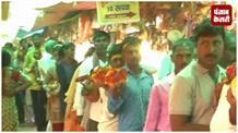 नवरात्र के आखिरी दिन मंदिर में उमड़े श्रद्धालु, भक्तों ने की मां सिद्धिदात्री की पूजा