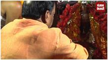 देवड़ी मंदिर में सीएम रघुवर दास ने की पूजा-अर्चना, राज्य की जनता के लिए की कामना